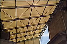 テント屋根