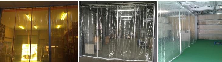 屋内ビニールカーテン